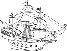 Drawing boats is easier than you may think. Have you ever wondered how to draw a pirate ship?