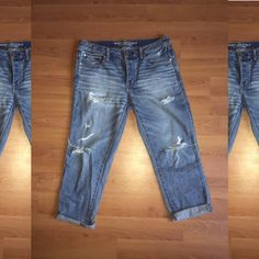 For Sale: Boy Cut Jeans for $28