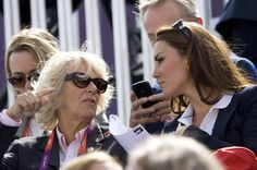 Kate Middleton cheers on Zara Phillips at London 2012 equestrian event - Mirror Online