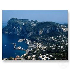 Capri, Italy... Had Lunch on top of the mountain while I was here... The views!!!!