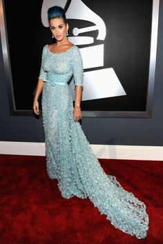 katy perry grammys 2012. Andddd she's one of my best dressed noms for 2013 too!