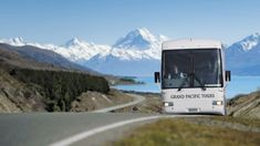Hit the road on tour in New Zealand to experience snow capped peaks, glacial lakes and spectacular varied terrain. Top Cruise, New Zealand Tours, Coach Travel, Coach Tours, Holiday Booking, Jewel Of The Seas, Booking Sites, Group Travel, Tour Operator
