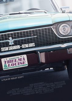 Thelma and Louise - poster film