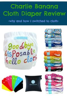 A friend swears by this brand because you can adjust the legs. This review echoes my friend's love of the brand! Charlie Banana Cloth Diaper Review