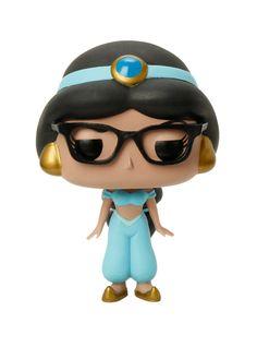 Funko Disney Pop! Aladdin Jasmine (Glasses) Vinyl Figure Hot Topic Exclusive, , alternate