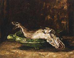 Willem de Zwart - STILL LIFE WITH FISH; Medium: oil on canvas