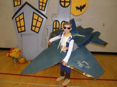 A Very Large Fighter Pilot Costume For Kids