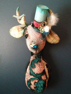 Ms.Doe Eyed Faux Taxidermy by SwankyEgg on Etsy, $300.00