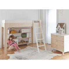 OEUF PERCH, lit superpose design, lit mezzanine design pour chambre enfant