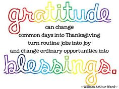 """•""""If ingratitude be numbered among the serious sins, then gratitude takes its place among the noblest of virtues."""" –Thomas S. Monson  •""""How grateful we should be for the bounties we enjoy."""" –Gordon B. Hinckley"""