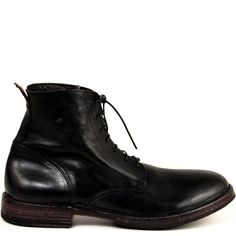 e1e38df623fb MOMA Italy Enzo boot for men, in black leather. Handmade and available at  Bulo Shoes in San Francisco.