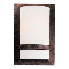 1-Light Iron Oxide Sconce Contemporary Wall Sconces, Rustic Wall Sconces, Rustic Walls, Modern Contemporary, Wall Sconce Lighting, Home Lighting, Lighting Ideas, Minka, Iron Oxide
