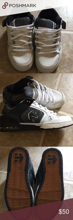 Etnies Metal Mulisha sneakers Only worn once or twice in good condition Etnies Shoes Sneakers