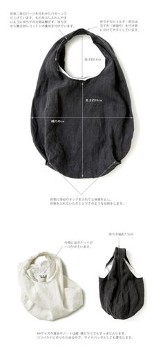 Joied eV Linen laundry bag made of ivy flanders - Home Decoration Linen Bag, Simple Bags, Denim Bag, Fabric Bags, Cloth Bags, Handmade Bags, Leather Craft, Backpack Bags, Bag Making