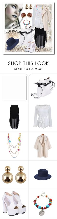 """www.romwe.com-IX-5"" by ane-twist ❤ liked on Polyvore featuring women's clothing, women's fashion, women, female, woman, misses, juniors and romwe"