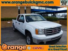 Orange Buick-GMC Special Pricing!  2012 GMC Sierra 1500 2WD Crew Cab
