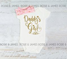 Baby girl clothes. Baby Shower Gift. Baby Girl by RosieandJames