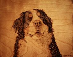 Personalized Gift of Pyrography by HAWKESPYROGRAPHY on Etsy, $145.00