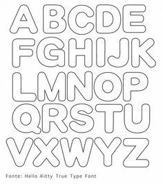 leuke sjabloon letters