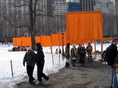 Christo and Jeanne-Claude's The Gates, Project for Central Park