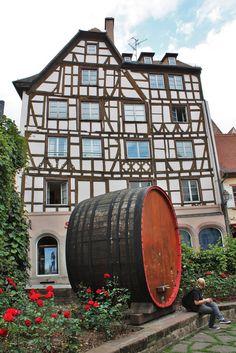 Strasbourg ~ Alsace - France #medieval house