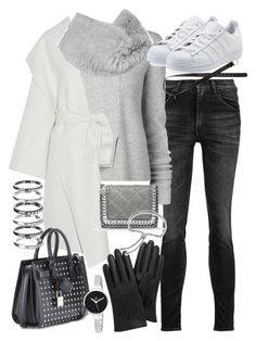 """""""Untitled #19333"""" by florencia95 ❤ liked on Polyvore featuring R13, Proenza Schouler, adidas Originals, Bottega Veneta, Vince Camuto, H&M, Yves Saint Laurent, Mulberry, STELLA McCARTNEY and Monica Vinader"""