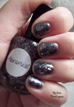 Lynnderella Mercurial over OPI Lucertainly Look Marvelous