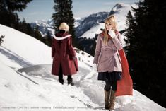 Winry Rockbell - In the mountains of Briggs by RomaiLee.deviantart.com on @deviantART                          Winry always had such cute outfits!  Also, per the notes on this photo, it was shot in the mountains in Switzerland.  Lovely!