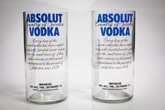 Hmmm, Josh, you know yo momma would love these since vodka is my adult beverage of choice!!! Merry Merry to me if I win...Reclaimed Absolut Vodka bottles tuned into drinking tumblers! My kind of recycling! $28 for two.  http://www.bourbonandboots.com/store/products/vodka-tumbler-vase/