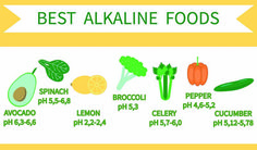 Keep your body in an alkaline state; then you will have fewer chances to suffer from chronic diseases. And it's well known that you're what you eat, that's true, if you want to maintain your body in the alkaline state, you have to know which foods can help you. The...More
