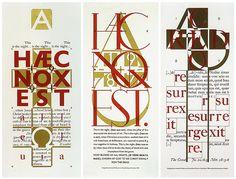 8- Phil Baines, Eye magazine, Typography Now: The Next Wave mi attira molto la sovrapposizione delle lettere e i loro incastri. Nonostante ce ne siano molti la composizione è ben leggibile.