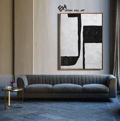 Large Wall Art Canvas Art Abstract Modern Art Canvas Painting image 3 Modern Canvas Art, Large Canvas Wall Art, Modern Wall Art, Abstract Animal Art, Abstract Canvas Art, Canvas Painting Images, Minimalist Painting, Mid Century Modern Art, Wall Art Sets