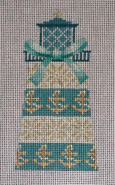 Anchor Lighthouse Needlepoint Canvas Kirk & Bradley