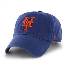 MLB  47 Brand Clean Up Gorra ajustable estilo como en casa. Royal TALLA  ÚNICA  Amazon.com.mx  Deportes y Aire Libre c17eb46cd66
