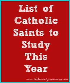 In teaching my Catholic faith to my children, one of my goals is to explore our list of Catholic saints. We have a giant list of amazing people to study,…