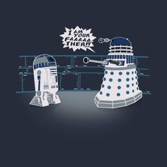 Awesome 'I+am+your+Dalek%21' design on TeePublic!