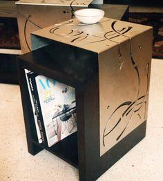 Dia Batal Lebanese furniture designer creates sleek and modern furniture using wood and steel. Steel Furniture, Art Furniture, Modern Furniture, Furniture Design, Middle Eastern Decor, Arabic Design, Islamic Art, Art And Architecture, Art Decor