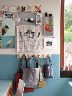 Inspiration Wall by Geninne D Zlatkis on flickr