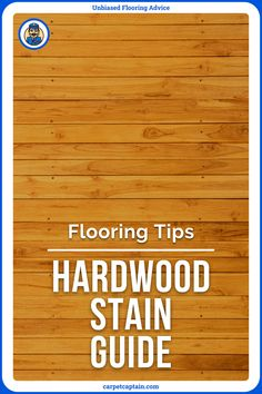 """Staining gives new life to your hardwood floor. This can help you avoid a complete floor remodel. Getting tired of the look of your floor? Refresh it with a stain that comes in about any hardwood color you can imagine (more on this later). It'll give a fresh color but also can make the grain """"pop"""" like it's new. Hardwood Floors, Flooring, Types Of Wood, New Life, Tired, Advice, Fresh, Pop, How To Make"""