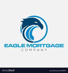Eagle emblems or eagle logos vector image on VectorStock Eagle Silhouette, Silhouette Vector, Eagle Emblems, Eagle Logo, Silhouettes, Adobe Illustrator, Vector Free, Hello Kitty, Symbols