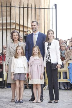 Pin for Later: There's No Doubt These Royal Families Make the Best Dressed List For Every Occasion Spain Royal Family