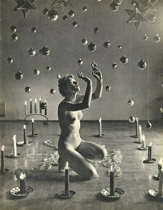 Framed Print – Ritual Magic by Andre de Dienes (Gothic Picture Witchcraft Art) Wicca, Magick, Witchcraft, Black Mass, Black And White, Ritual Magic, Nude Portrait, Season Of The Witch, Mystique