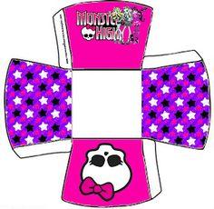 Gata borralheira quem te pintou?: Convite e tags para Festa Monster High