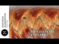 Το Απόλυτο Τσουρέκι | Dimitriοs Makriniotis - YouTube Greek Recipes, Food And Drink, Easter, Bread, Cakes, Youtube, Cake Makers, Easter Activities, Brot