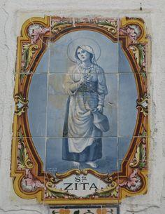Zita - patron saint of housework Catholic Saints, Patron Saints, Roman Catholic, St Catherine Of Siena, Catherine Of Alexandria, Gift Of Faith, Scapula, Prayer Cards, Little Flowers