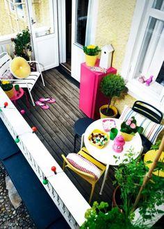 De la couleur pour mon balcon