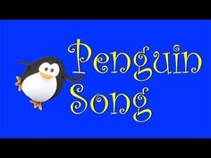 :arrow_forward: Penguin Song- teach about penguins with this fun sing-along - YouTube