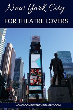 New York City for Theatre Lovers - tips on what to see and do - Broadway shows and more | #Broadway #NewYork #NewYorkCity #NYC #thebigapple #familytravel #theatre #theater | Gone with the Family