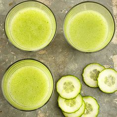 cucumber mint hydration smoothies