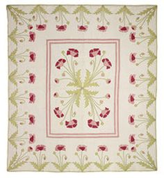 Poppy Quilt by Marie Webster Collection of the Indianapolis Museum of Art